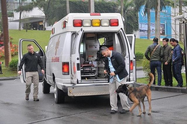 Mật vụ Mỹ siết chặt an ninh quanh khách sạn Marriott - Ảnh 2.