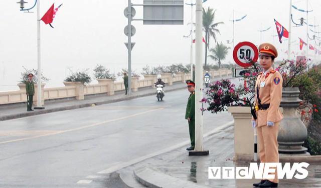 Ảnh: Quảng Ninh thắt chặt an ninh chào đón đoàn Triều Tiên thăm vịnh Hạ Long - Ảnh 12.