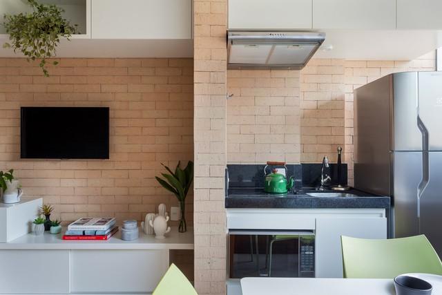Căn hộ 27 m2 dù nhỏ vẫn đầy đủ tiện nghi và không gian riêng tư - Ảnh 5.