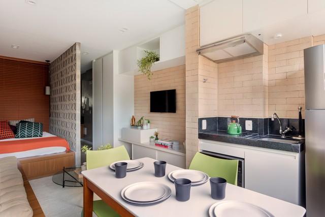 Căn hộ 27 m2 dù nhỏ vẫn đầy đủ tiện nghi và không gian riêng tư - Ảnh 6.