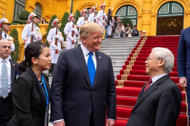 Nhà Trắng đăng tải loạt khoảnh khắc đẹp trong ngày đầu Hội nghị thượng đỉnh Mỹ - Triều tại Việt Nam - Ảnh 4.
