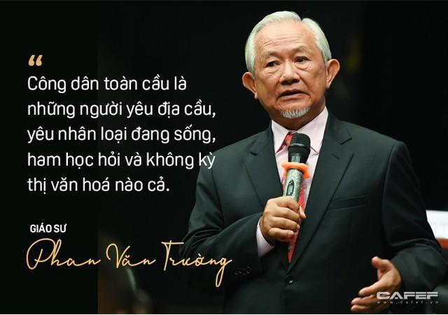 """GS. Phan Văn Trường: Đi ra nước ngoài hãy là chính mình nhưng đừng cứ 5 phút lại tự nhắc nhở """"Tôi là người Việt Nam"""" - Ảnh 2."""