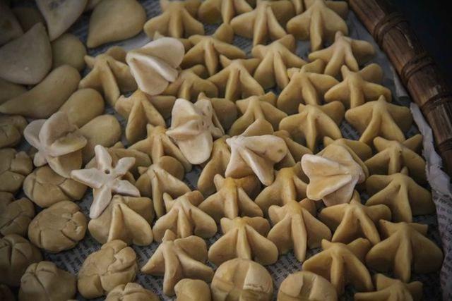 Tết Việt Nam cũng có món bánh truyền thống xinh đẹp cầu kì chẳng thua kém gì Wagashi Nhật - Ảnh 12.