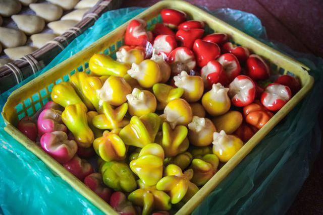 Tết Việt Nam cũng có món bánh truyền thống xinh đẹp cầu kì chẳng thua kém gì Wagashi Nhật - Ảnh 6.