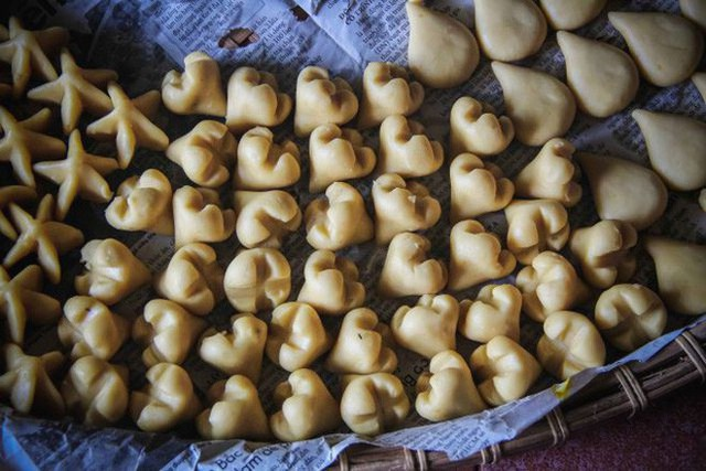 Tết Việt Nam cũng có món bánh truyền thống xinh đẹp cầu kì chẳng thua kém gì Wagashi Nhật - Ảnh 10.