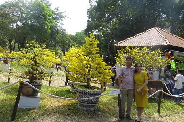 Đi chơi tết, dân Sài Gòn thích thú ngắm kỳ hoa dị thảo - Ảnh 3.