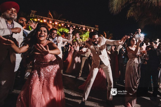 Chùm ảnh: Những khoảnh khắc ấn tượng nhất trong hôn lễ chính thức của cặp đôi tỷ phú Ấn Độ bên bờ biển Phú Quốc - Ảnh 26.
