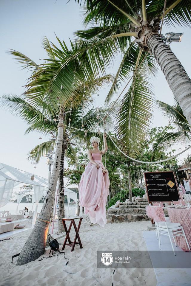 Chùm ảnh: Những khoảnh khắc ấn tượng nhất trong hôn lễ chính thức của cặp đôi tỷ phú Ấn Độ bên bờ biển Phú Quốc - Ảnh 10.