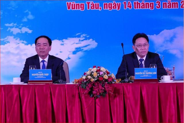 Sáng nay, Tổng giám đốc Nguyễn Vũ Trường Sơn vẫn ngồi ghế chủ trì hội nghị của PVN - Ảnh 2.