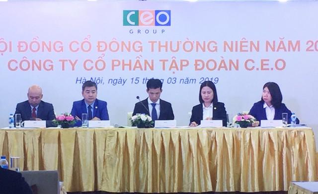 ĐHCĐ CEO: Dự kiến phát hành gần 103 triệu cổ phiếu giá 10.000 đồng/cp - Ảnh 1.