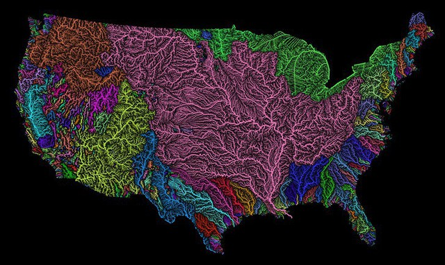 Những tấm bản đồ độc đáo về nước Mỹ từng được nhắc đến ở trường nhưng người dân quốc gia này ít ai biết đến - Ảnh 11.