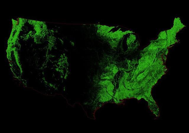 Những tấm bản đồ độc đáo về nước Mỹ từng được nhắc đến ở trường nhưng người dân quốc gia này ít ai biết đến - Ảnh 6.