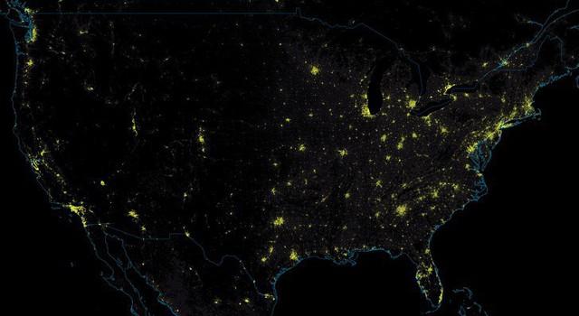 Những tấm bản đồ độc đáo về nước Mỹ từng được nhắc đến ở trường nhưng người dân quốc gia này ít ai biết đến - Ảnh 9.
