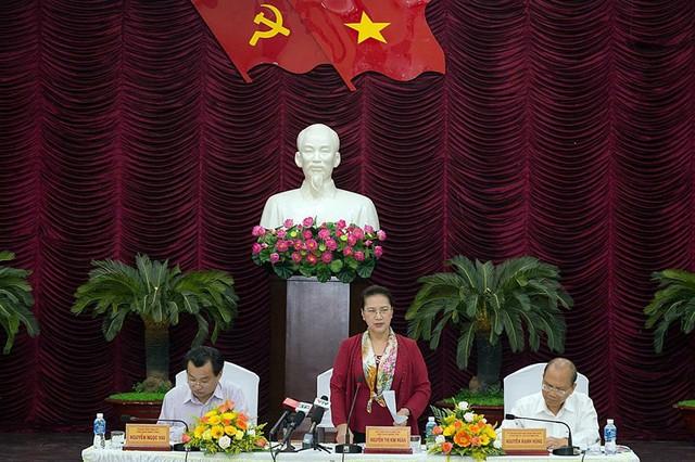Bình Thuận báo cáo 5 điểm nghẽn lên Chủ tịch Quốc hội  - Ảnh 1.