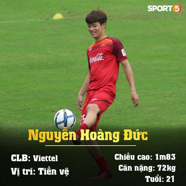 Info 23 cầu thủ U23 Việt Nam, những người mang trọng trách viết tiếp lịch sử bóng đá nước nhà - Ảnh 2.