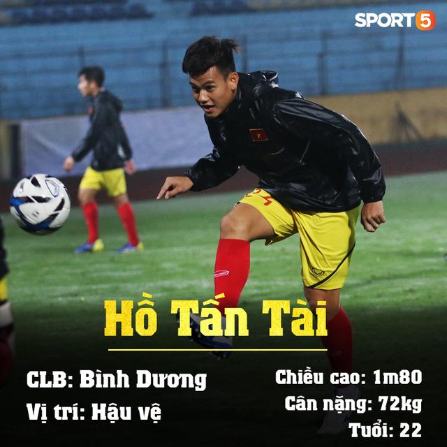Info 23 cầu thủ U23 Việt Nam, những người mang trọng trách viết tiếp lịch sử bóng đá nước nhà - Ảnh 13.
