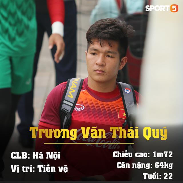 Info 23 cầu thủ U23 Việt Nam, những người mang trọng trách viết tiếp lịch sử bóng đá nước nhà - Ảnh 14.