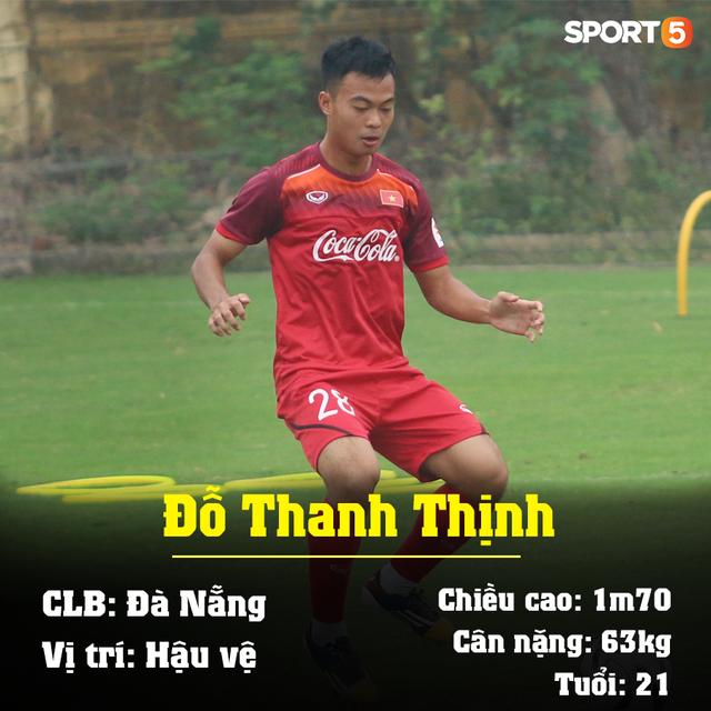 Info 23 cầu thủ U23 Việt Nam, những người mang trọng trách viết tiếp lịch sử bóng đá nước nhà - Ảnh 16.