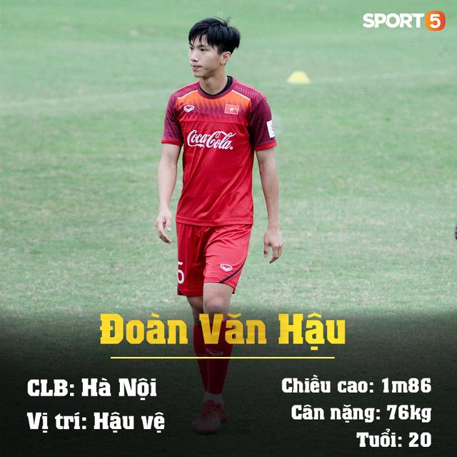 Info 23 cầu thủ U23 Việt Nam, những người mang trọng trách viết tiếp lịch sử bóng đá nước nhà - Ảnh 20.