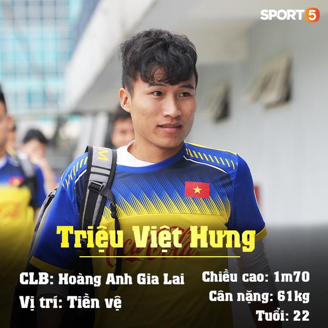 Info 23 cầu thủ U23 Việt Nam, những người mang trọng trách viết tiếp lịch sử bóng đá nước nhà - Ảnh 22.