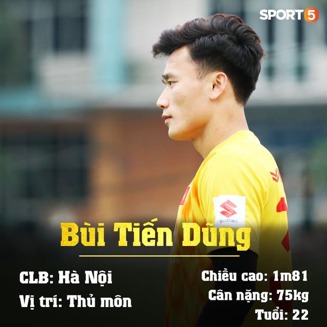 Info 23 cầu thủ U23 Việt Nam, những người mang trọng trách viết tiếp lịch sử bóng đá nước nhà - Ảnh 5.