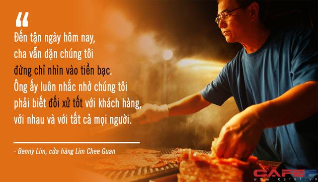 Phía sau món bak kwa lừng danh khiến bao người xếp hàng chờ cả tuần để mua tại Singapore: Từ triết lý gia đình là cái gốc đến giấc mơ có thật của 3 thế hệ nhà họ Lim - Ảnh 4.