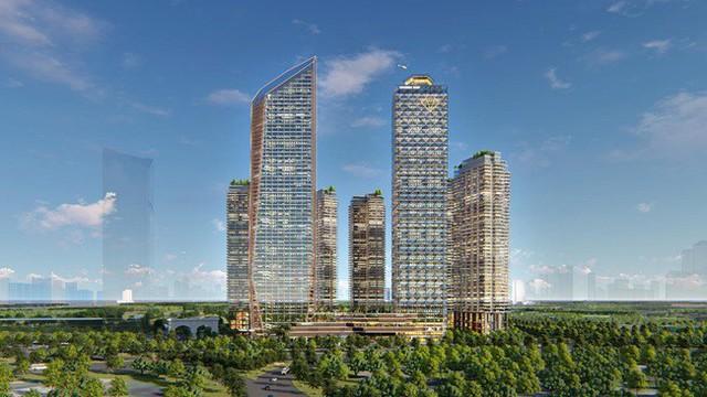 Loạt tòa tháp chọc trời dồn dập đổ bộ, biến nơi đây thành trung tâm tài chính - thương mại mới của Hà Nội - Ảnh 3.
