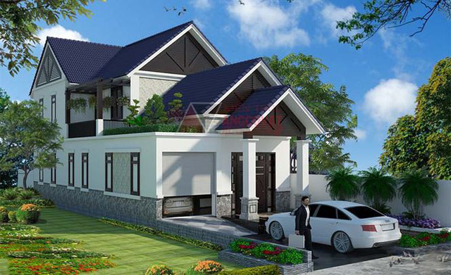 Mê mẩn những mẫu nhà cấp 4 kiểu Ấn Độ đẹp như biệt thự - Ảnh 3.