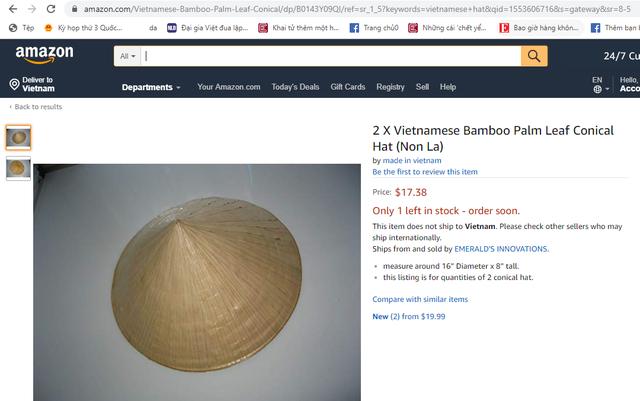 Amazon chưa mở trang bán hàng trực tiếp tại Việt Nam - Ảnh 1.