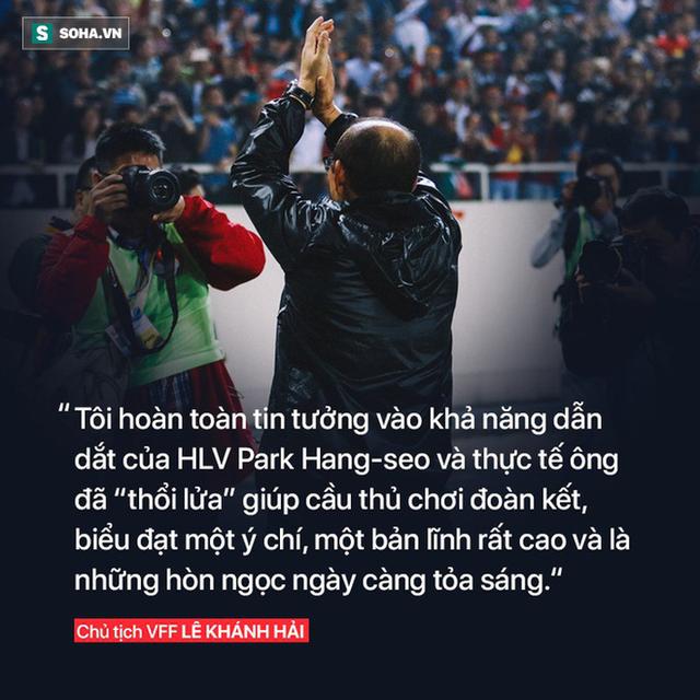 Sau thanh kiếm lệnh được trao cho thầy Park, là tham vọng thực sự của bóng đá Việt Nam - Ảnh 3.