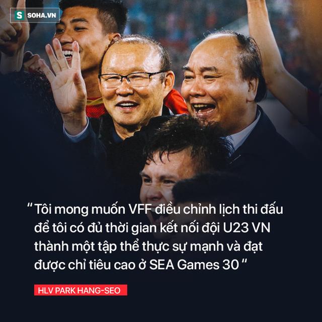 Sau thanh kiếm lệnh được trao cho thầy Park, là tham vọng thực sự của bóng đá Việt Nam - Ảnh 4.