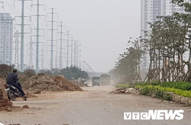 Nhếch nhác đường 40m nối hai tuyến vành đai ở Hà Nội: Lãnh đạo quận Tây Hồ nói gì? - Ảnh 1.
