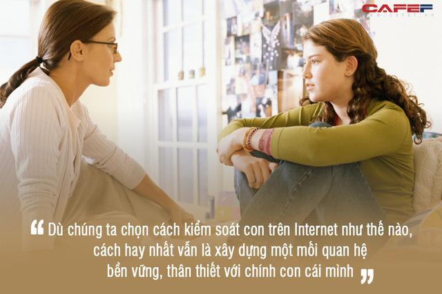 """Kiểm soát con cái trên Internet: Thương con là cho con môi trường lành mạnh để phát triển, đừng để chúng """"chết ngạt"""" trong nhà tù do chính mình tạo ra! - Ảnh 3."""