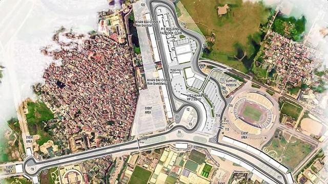 Hà Nội chính thức phê duyệt quy hoạch đường đua F1 - Ảnh 1.