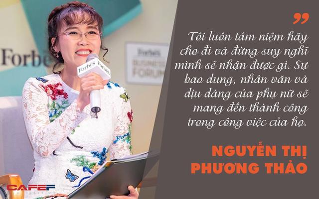 Những phát ngôn ấn tượng của các nữ tướng trên thương trường Việt từng nhiều lần lọt top 50 của Forbes - Ảnh 2.