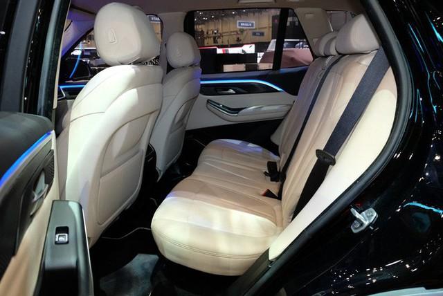 Bóc tách trang bị hàng hiệu trên VinFast Lux V8 vừa ra mắt - Ảnh 11.