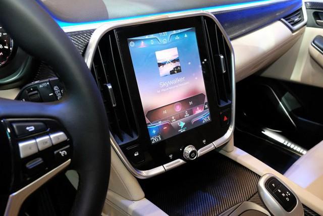 Bóc tách trang bị hàng hiệu trên VinFast Lux V8 vừa ra mắt - Ảnh 13.