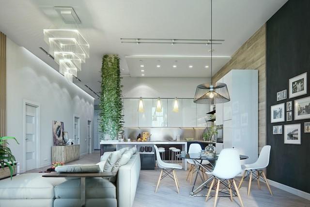 Phòng ăn có phong cách đan xen truyền thống và hiện đại - Ảnh 2.