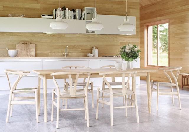 Phòng ăn có phong cách đan xen truyền thống và hiện đại - Ảnh 12.