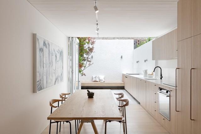 Phòng ăn có phong cách đan xen truyền thống và hiện đại - Ảnh 6.