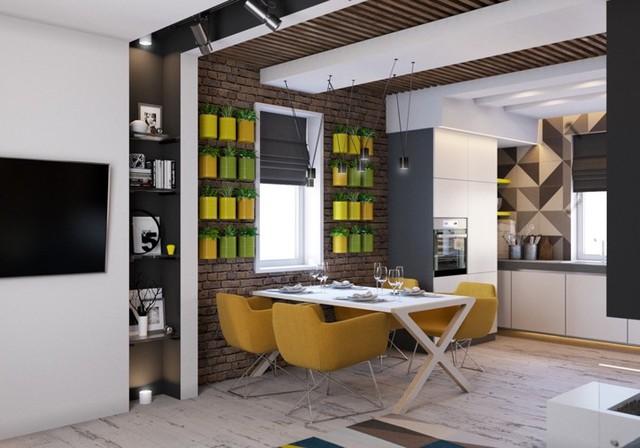 Phòng ăn có phong cách đan xen truyền thống và hiện đại - Ảnh 8.