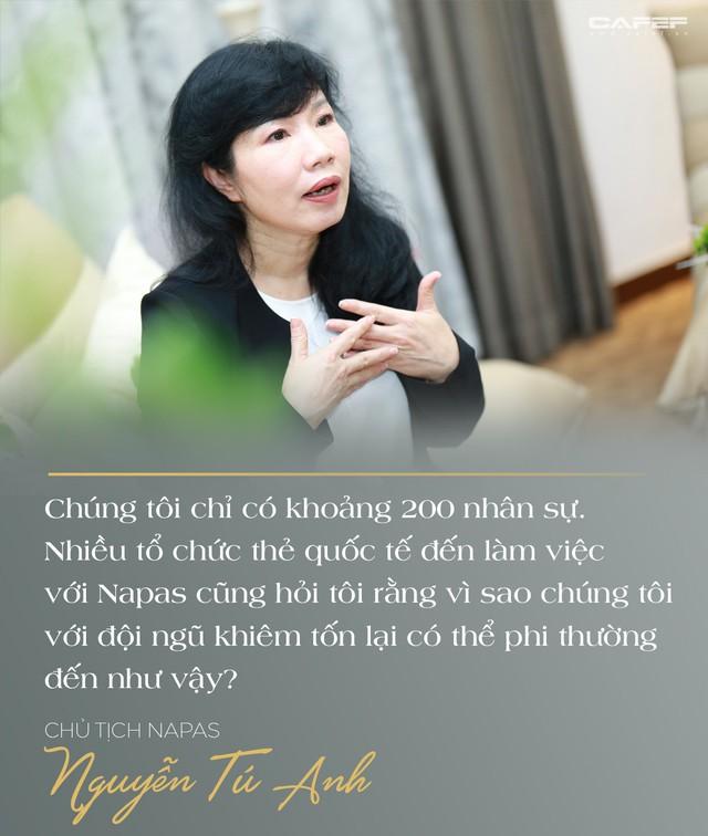 Chủ tịch Napas Nguyễn Tú Anh: Hãy vượt qua giới hạn của bản thân, cứ chân thành và đam mê thì thành công ắt sẽ đến - Ảnh 12.