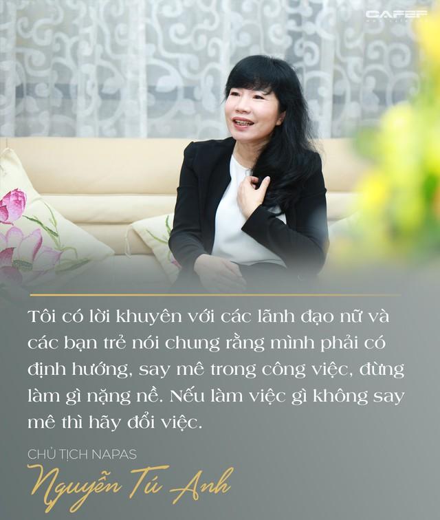 Chủ tịch Napas Nguyễn Tú Anh: Hãy vượt qua giới hạn của bản thân, cứ chân thành và đam mê thì thành công ắt sẽ đến - Ảnh 16.