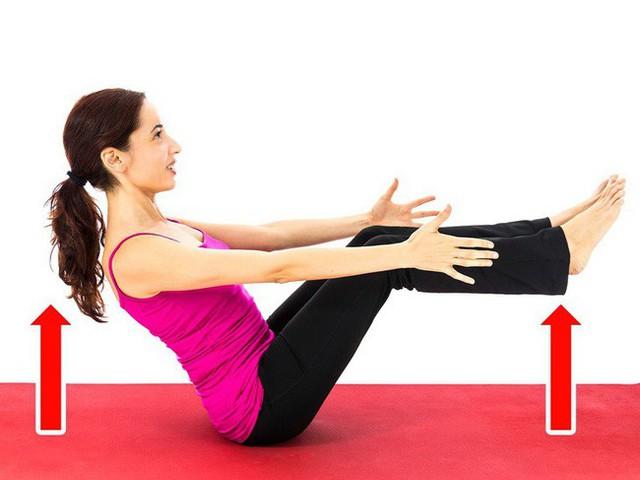 Bài tập 15 phút đánh bay mỡ bụng cho người quá bận, không thể tới phòng gym - Ảnh 3.