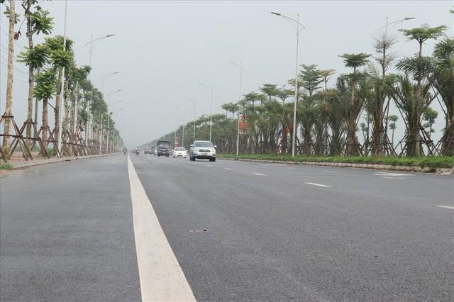 Toàn cảnh tuyến đường nối vào KĐT Mường Thanh Thanh Hà sắp hoàn thành - Ảnh 3.