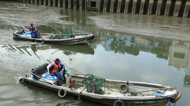 Cá lại chết nổi trắng kênh Nhiêu Lộc - Thị Nghè sau mưa  - Ảnh 2.