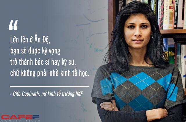 Chuyện chưa kể về người phụ nữ xinh đẹp đầu tiên giữ chức kinh tế trưởng của IMF: Từ cô gái trung lưu Ấn Độ đến vị giáo sư xuất sắc của Harvard ai cũng nể phục! - Ảnh 4.