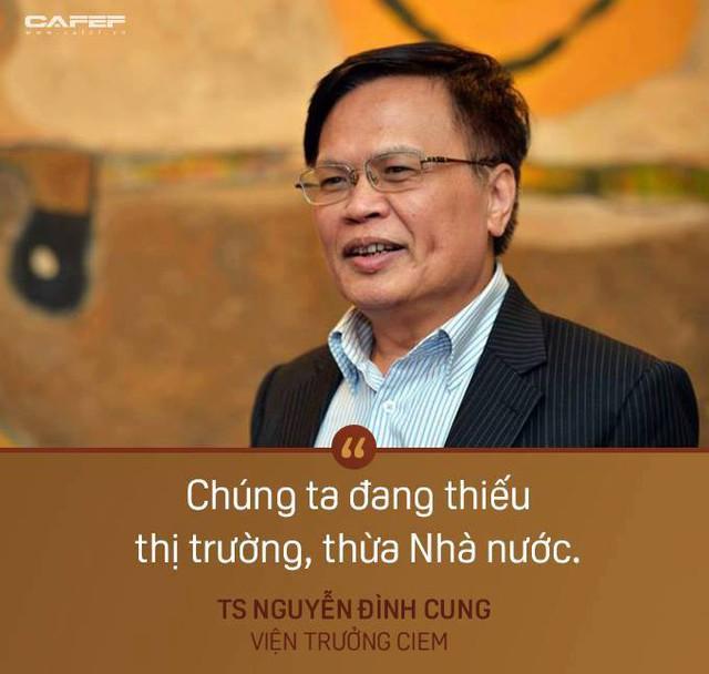 TS. Nguyễn Đình Cung chỉ ra con số bất thường về khu vực kinh tế tư nhân - Ảnh 1.