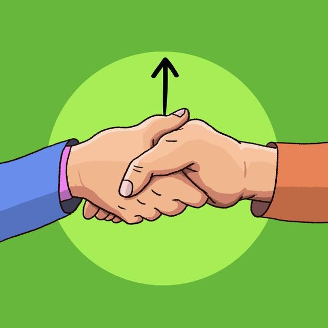 Đọc vị tính cách người đối diện qua 6 kiểu bắt tay: Những quy tắc ngầm trong nghệ thuật giao tiếp - Ảnh 3.