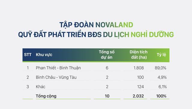 Quỹ đất hiện có của tập đoàn Novaland khoảng gần 2.700ha, đặt mục tiêu doanh thu 18.000 tỷ đồng trong năm 2019 - Ảnh 5.